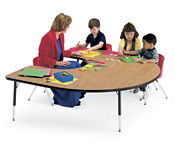 Horseshoe Shape Activity Table, A10183