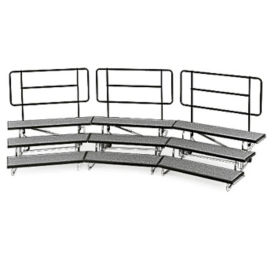 "Backrail for 48"" Mobile Riser, D21226"