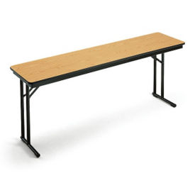"Folding Seminar Table - 18"" x 72"", T11224"