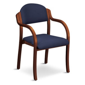 Wood Frame Arm Chair, C80053