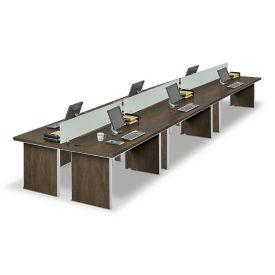 Metropolitan Six Benched Workstations, D30280