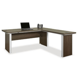 "72"" Reversible L-Shaped Desk, D31023"