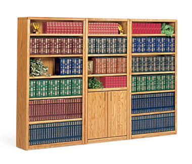 Library Wall Bookcase, B32112