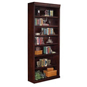 "Seven Shelf Traditional Bookcase - 84"" H, B23017"