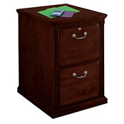 "Two Drawer Vertical File - 21"" W, L40701"