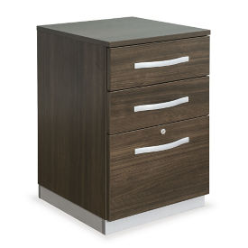 "18""W Three Drawer Mobile Pedestal, L40021"