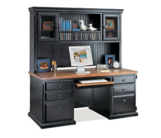 Desk with Hutch, D35057