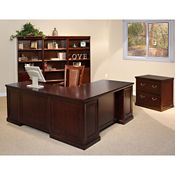 Office Desk Group with Storage, D35127