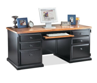 Computer Desk with CPU Storage Area, D35047