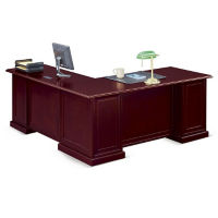 "Cumberland L-Desk with Right Return - 72""W, D35642"