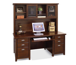 Desk with Hutch, D35133