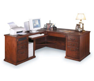 L-Desk with Left Return, D30113