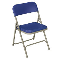 Folding Chair with U Braces and Double Rivets, D51122