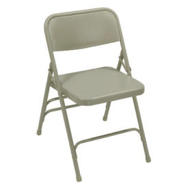 Triple Brace Steel Folding Chair, C50139
