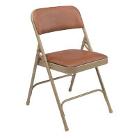Double Hinged Vinyl Folding Chair, C50141