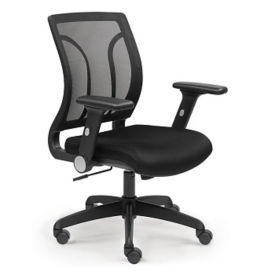 Screen Mesh Back Task Chair with Memory Foam, C80378