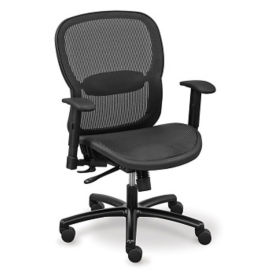 Big and Tall All Mesh Task Chair, C80379