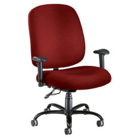 Big & Tall Ergonomic Task Chair with Arms, D50028