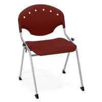 Armless Stack Chair with Ganging Brackets, C67829