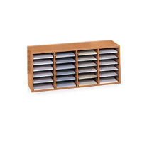 Wood Organizer with 24 Slots, L40279