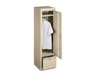 Slim Wardrobe Cabinet and File Drawer, B34703