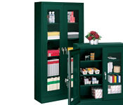 "Visual Storage Cabinet 24"" x 72"", B30374"