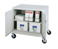 Mobile 2-Door Storage Cabinet, B30049