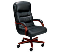Leather High Back Chair, C80146
