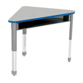 Wing Shape Student Desk with Book Box, D35340