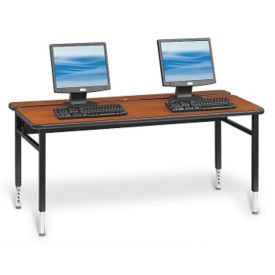 "Adjustable Height Computer Table - 60""W x 24""D, E10181"