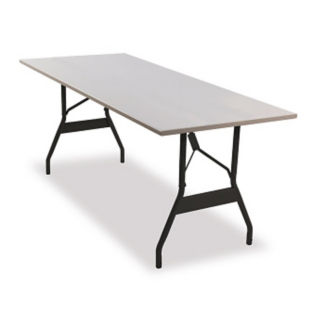 "Aluminum Folding Table 30""x72"" with Wishbone Style Legs, T10922"
