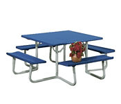 "Square Picnic Table 48"" Wide, T10574"