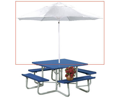 Umbrella for Picnic Table, V21888