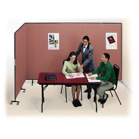 "9 Panel Wall Partition 16'6""w x 6'8""h, F40969"