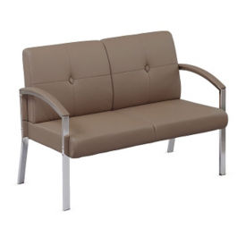 Polyurethane Diamond Back Loveseat, C80431