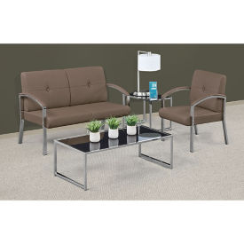 Diamond Loveseat and Guest Chair Reception Set, W60936