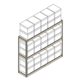 "Heavy-Duty Shelving Unit - 69""W x 15""D x 60""H, B30172"
