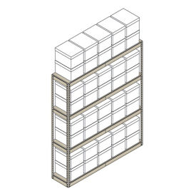 "Heavy-Duty Shelving Unit - 69""W x 15""D x 84""H, B30174"