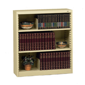 Steel Bookcase with Three Shelves, B30617
