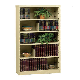 Steel Bookcase with Five Shelves, B30618