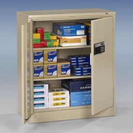 "Keypad Lock Storage Cabinet - 42"" H, B34418"