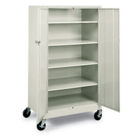 Mobile 5 Shelf Storage Cabinet, B30348
