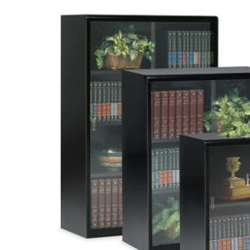 "52"" High Bookcase with Glass Doors, B32070"