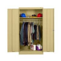 "Keypad Lock Wardrobe Cabinet - 72""H, B34414"