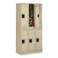 Double Tier Lockers 3 Wide, D23042