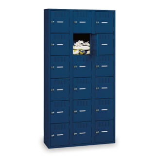 Six Tier Box Lockers 3 Wide, D23044