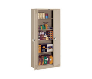 "Storage Cabinet Heavy Duty 78"" High x 24"" Deep, D31128"