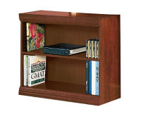 "Traditional Bookcase with Reinforced Shelves - 30""H, B34053"