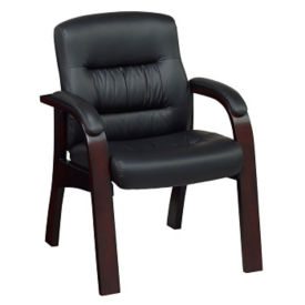 Faux Leather Guest Chair, C80346