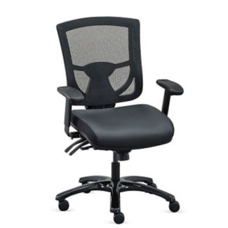 Polyurethane 24/7 Mesh Back Ergonomic Computer Chair , C80415